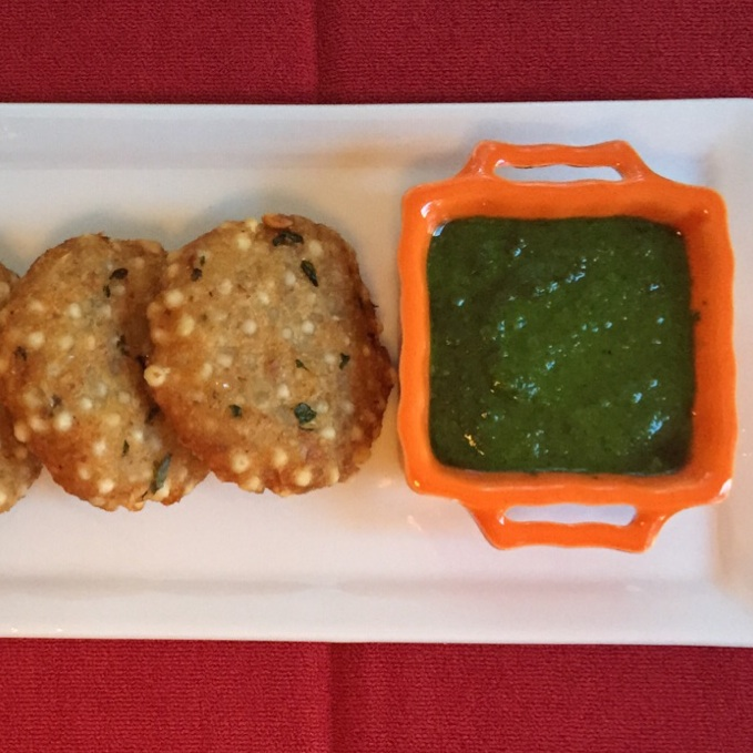 Falahari Cilantro-Mint chutney by Ginger-it-Up