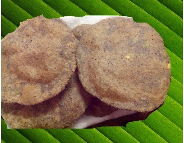 Water Chestnut flour (Singhare ka Atta) Pooris