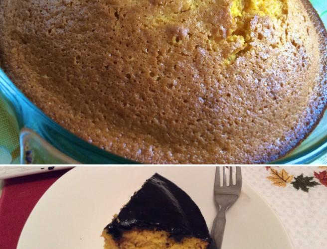 """Brazilian Carrot Cake-""""Bolo De Cenoura"""""""