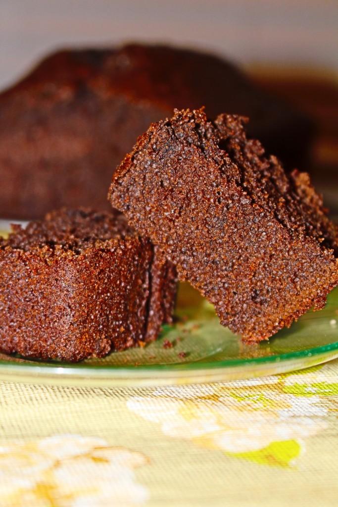 Dark Chocolate Coffee Cake