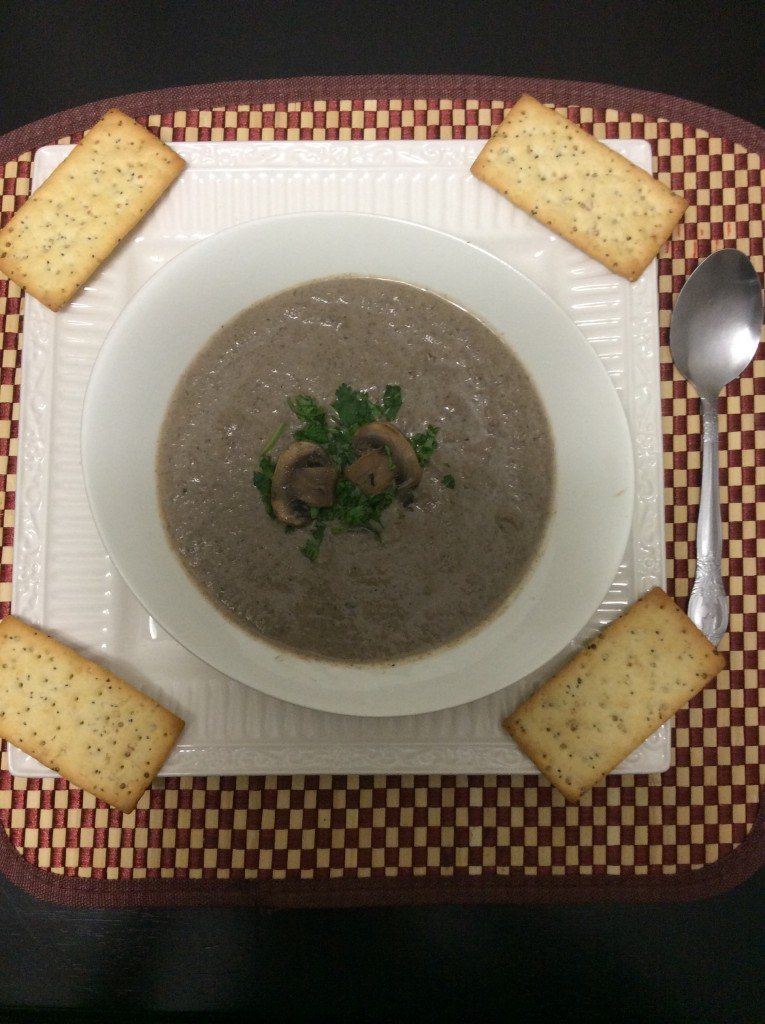 Cream of Mushroom Soup by Ginger-it-Up