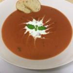 Creamy Tomato Basil Bisque