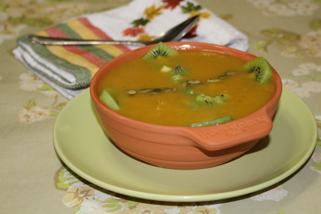 Fruit & Nut Winter-squash Soup