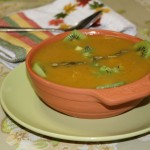 Fruit & Nut Winter Squash Soup