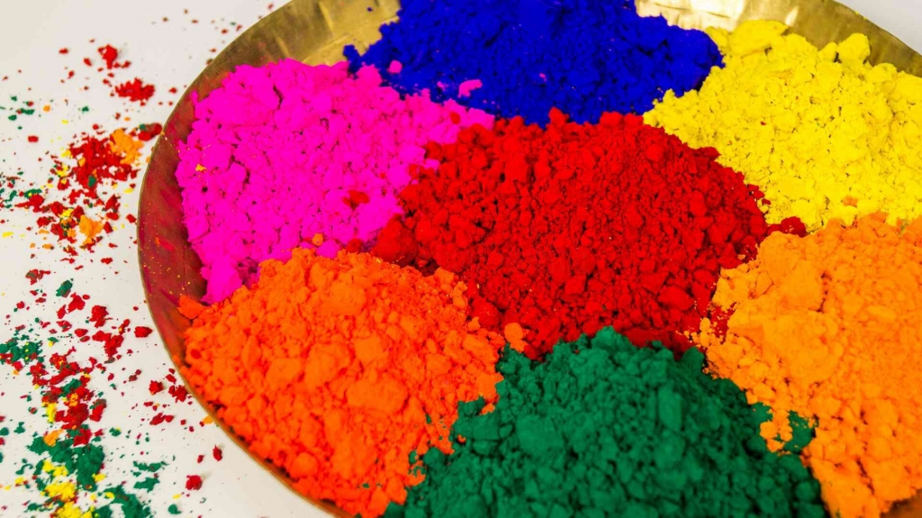 Holi colors-Gluten Free Gujiya