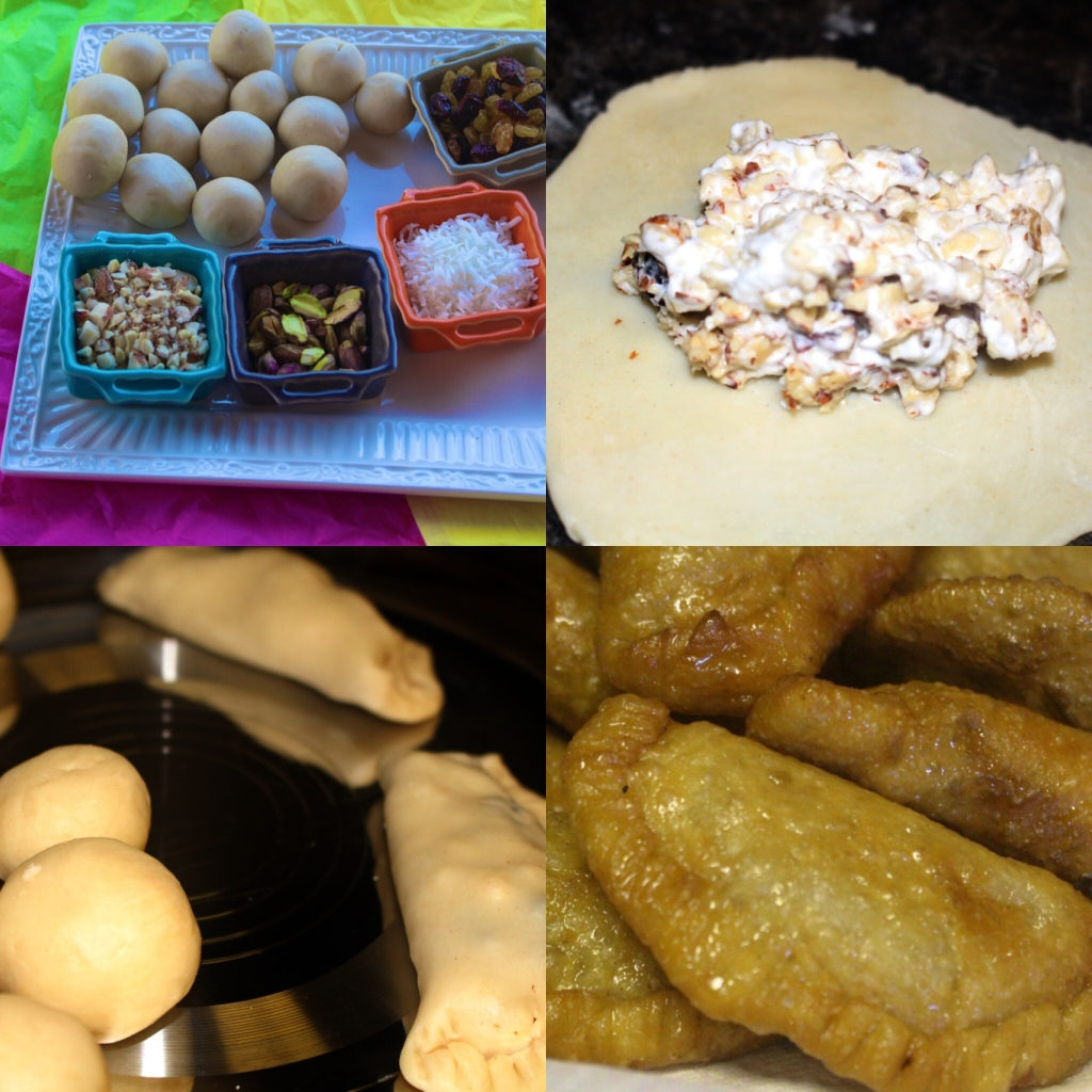 Gluten Free Gujiya-Sweet Dumplings for Holi