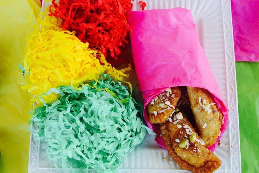 Gluten Free Gujiya-Sweet Dumplings
