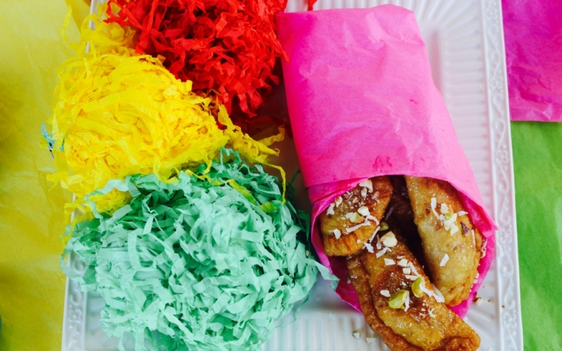 Holi : Celebrate the Indian festival of color with Gluten Free Gujiya