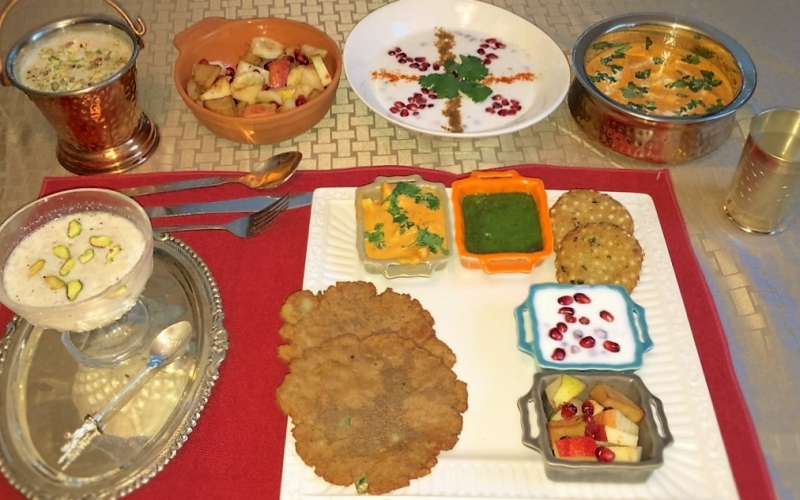 The Grand Indian Navratri Thali: Fasting and Feasting the Healthy Way over the Nine nights of festive Valour