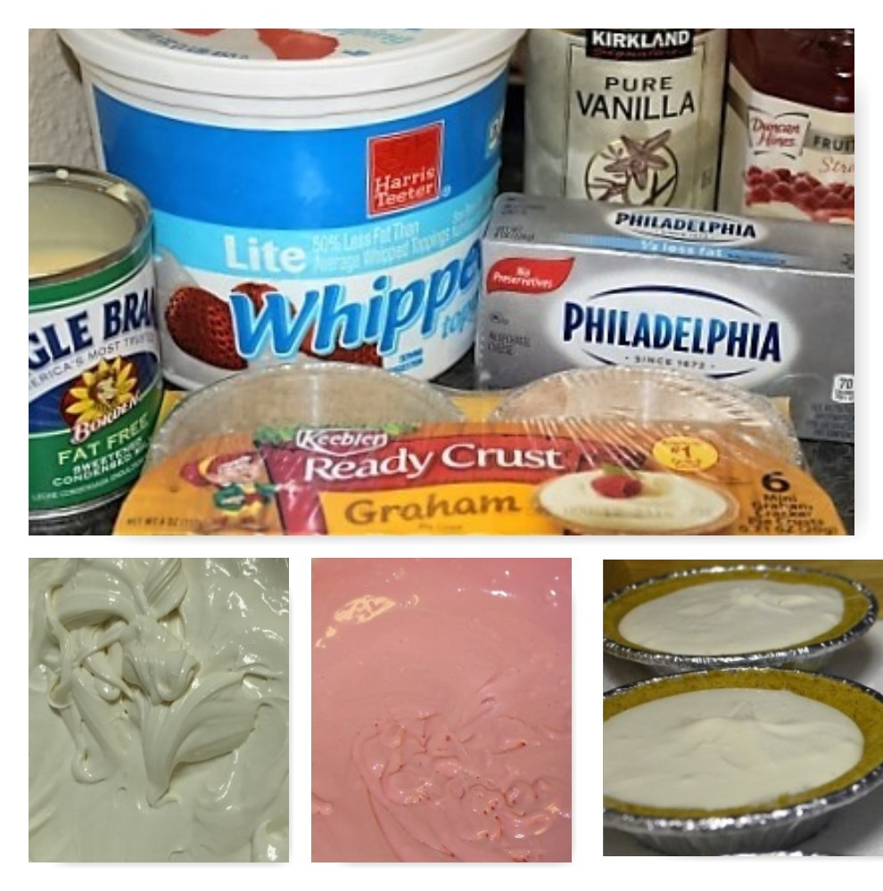 No Bake Cheesecake Process