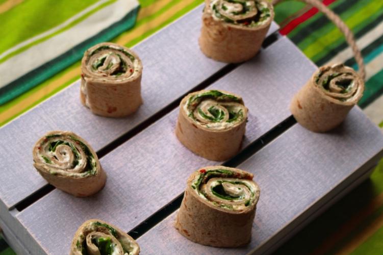 Tortilla Pinwheels