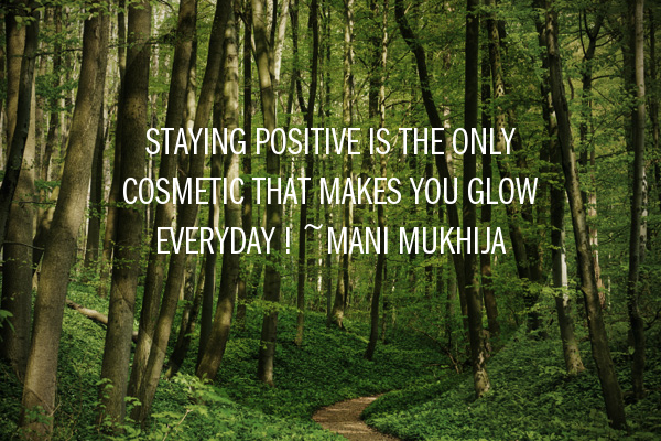 Stay Positive !