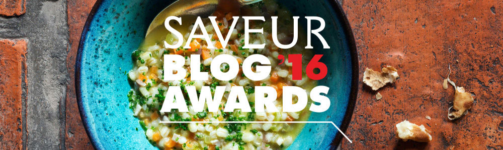 Saveur Blog Awards 2016 nomination