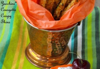Baked Zucchini* Courgette Crispy Thins- A Perfect Size Zero Snack to Compliment Your Tea-Time Emotion!