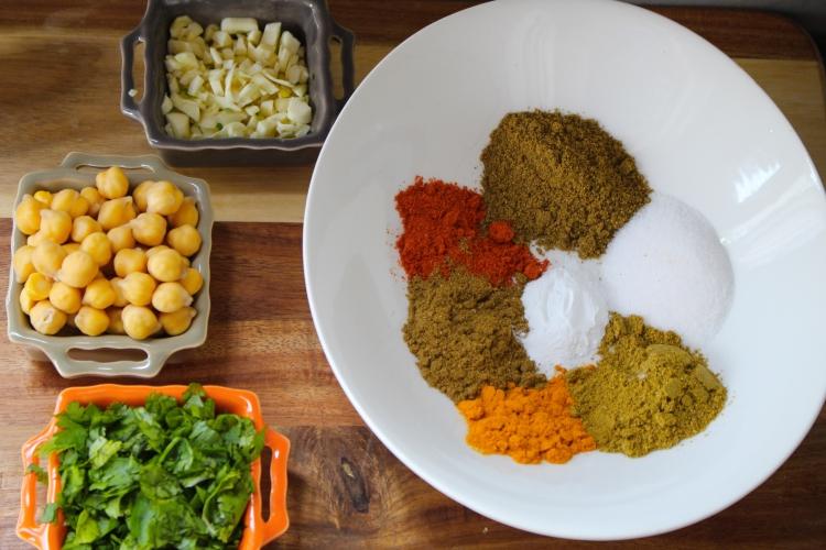 Baked Falafel-Middle Eastern Street food-by gingeritup.com