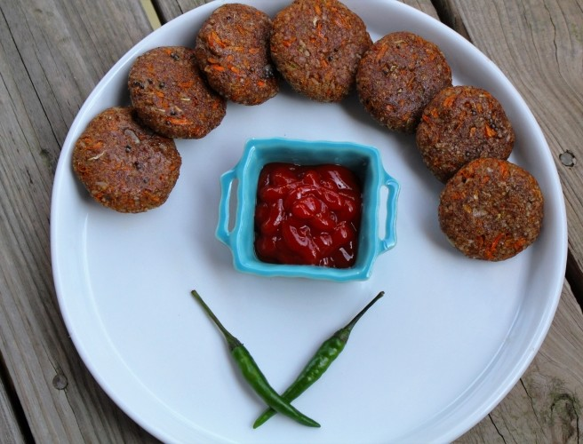 Veggie Patty Delight- Steamed Veg Patties