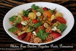 Gluten Free Garden Pagodas Pasta Primavera