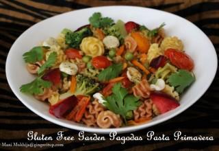 Gluten Free Garden Pagodas Pasta Primavera-Transport your taste buds to the streets of Italy