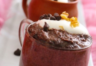 Super Easy Eggless Chocolate Mousse-Happy 1st Birthday Ginger-it-Up!