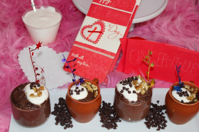 Super Easy Eggless Chocolate Mousse