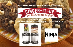 Holiday Heritahe Recipe Contest sponsored by NINJA