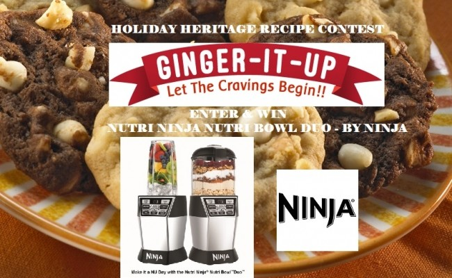 Holiday Heritage Recipes Contest-Winner Announced!!!