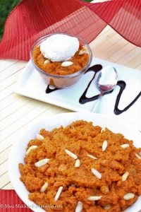 Gajar Ka Halwa(or Gajrela/Carrot pudding)