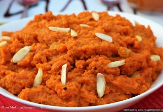 Gajar ka Halwa (or Gajrela)-The Indian Heritage 'Saffron Delight' Carrot Pudding