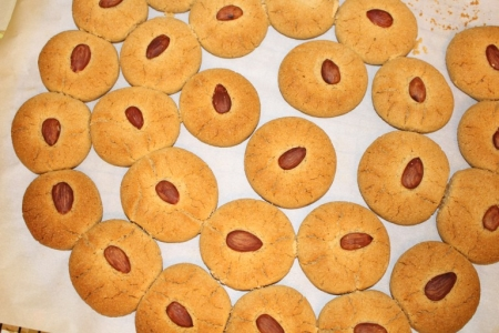 Indian Nan Khatai Shortbread Cookies