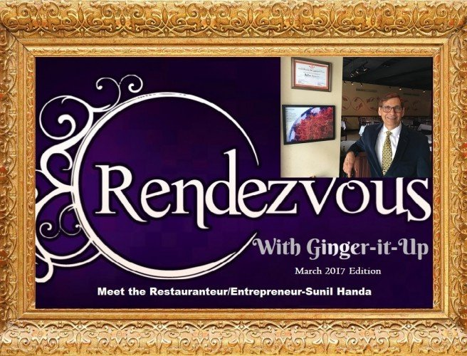 Rendezvous with Ginger-it-Up: Meet the Restauranteur/Entrepreneur