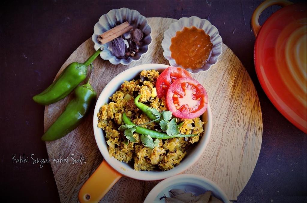 Vegetarian Soya Keema Masala