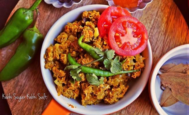 Soya Keema Masala- A Protein Loaded Vegetarian Entrée