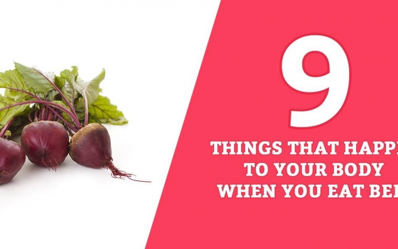 9 Things That Happen to Your Body When You Eat Beet