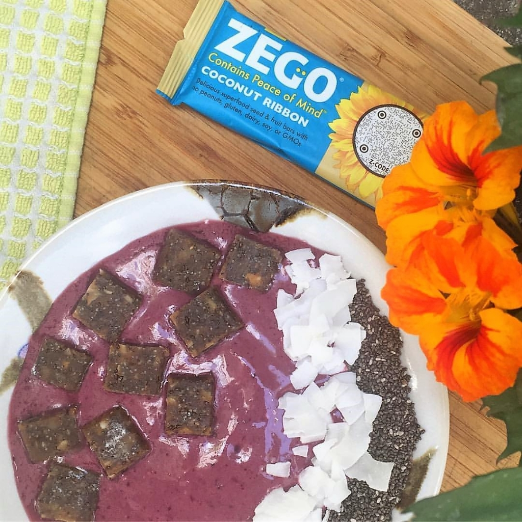 Breakfast Smoothie Bowl with ZEGO Bar