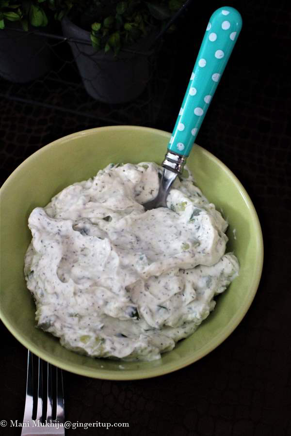 Yoghurt Cucumber Dip