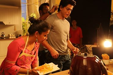 Chef Payal Gupta - India's Leading Food Stylist with Actor Shahrukh Khan
