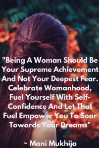 Inspirational Quote of the Month: Women Empowerment, #BalanceforBetter, #IWD2019