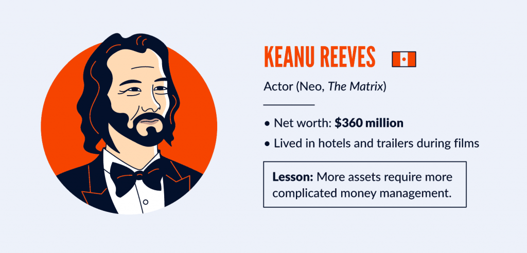 financial-advice-from-celebrities_keanu-reeves-financial-lesson